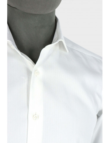 COTTON FALSE PLAIN SHIRT