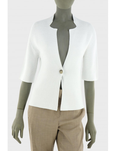 Peserico cotton cardigan with a button