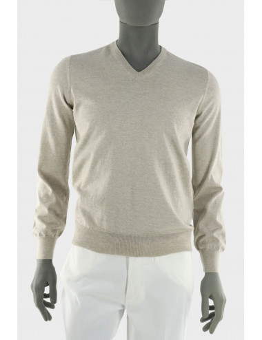 COTTON AND CASHMERE SWEATER