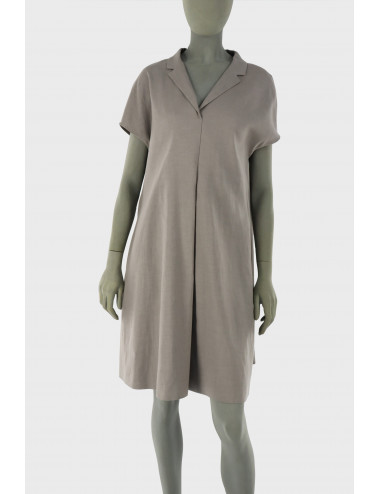 LINEN AND COTTON DRESS