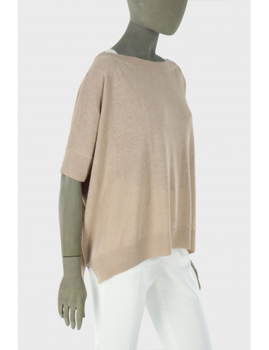 LINEN AND COTTON SWEATER
