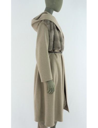 MINK AND CASHMERE COAT