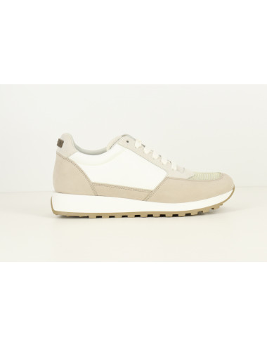 LEATHER LUREX SNEAKERS