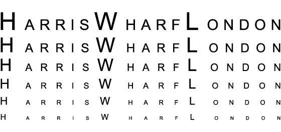 HARRIS WHARFL LONDON